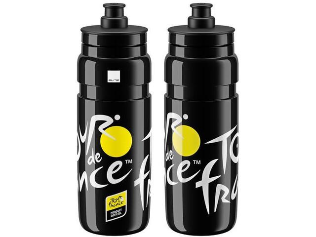 Elite Fly Tr d Frnc Logo Drinking Bottle 750ml, black
